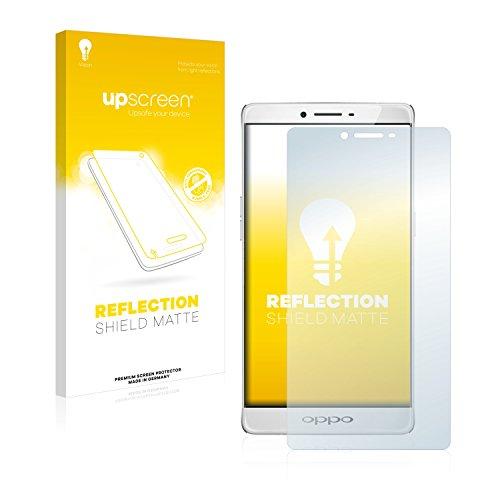 upscreen Entspiegelungs-Schutzfolie kompatibel mit Oppo R7 Plus – Anti-Reflex Bildschirmschutz-Folie Matt