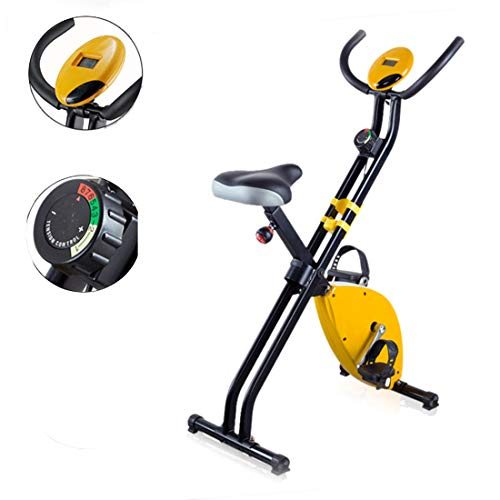 Thuis Dynamic Cycle Machine fitnessbike Binnen fietsen hometrainer met LCD-scherm Weight Loss Fitness Equipment,Pink