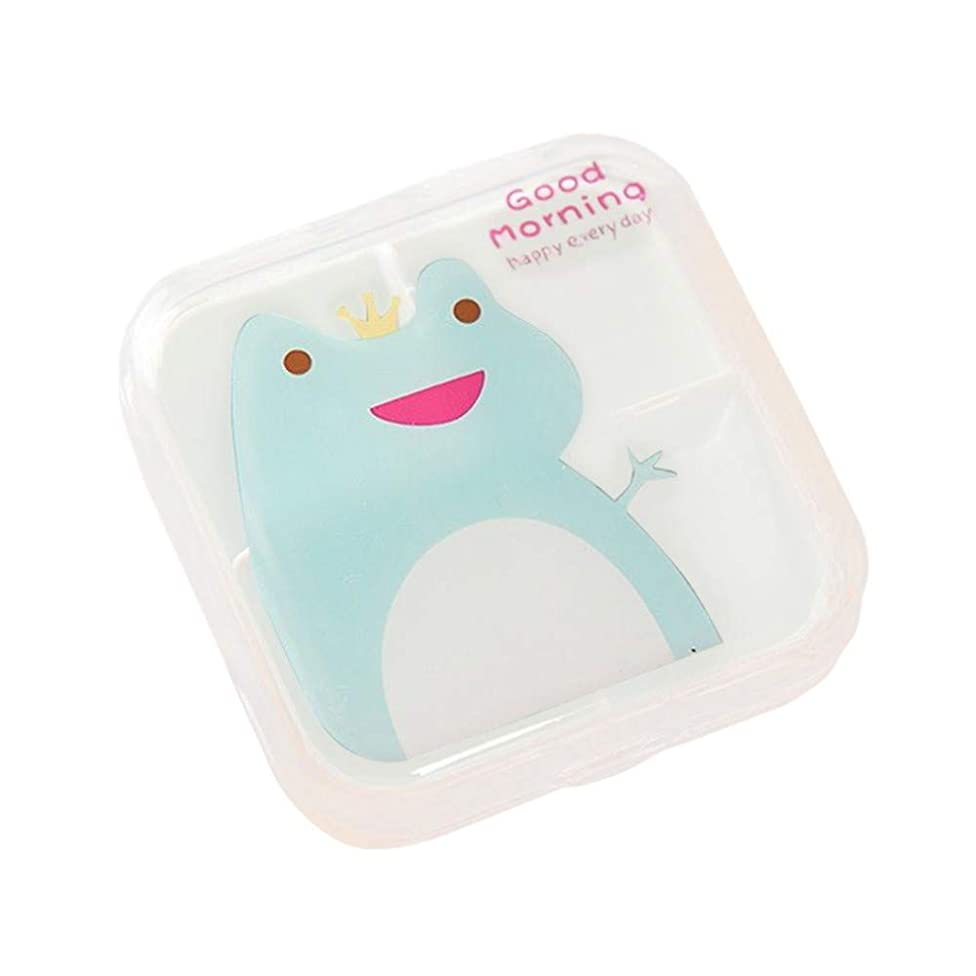 Pangxiannv Mini Drug Box is Packed with Small Medicine Box One Week Travel Tablets and Drug Holder Daily Pill Organizer Cute Pill Box Cute Pill Case Locking Pill Box Locking Pill Box AM PM Pill Case