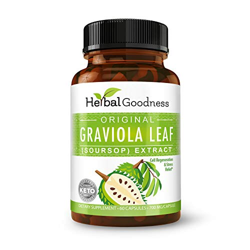 Graviola (Soursop) Leaf Extract Capsules – Cell...