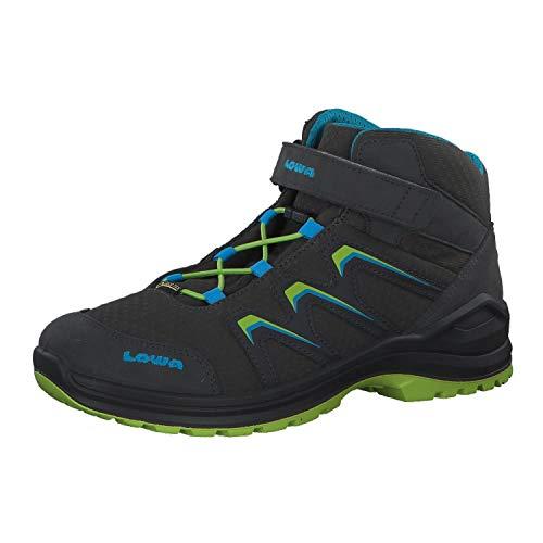 Lowa Jungen Boots Maddox GTX Mid Junior grau Gr. 36