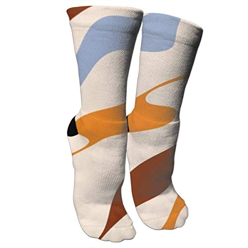 HJKAA Calcetines Hombres Mujer Water Color Pattern Compression Socks for Women and Men - Best Medical,for Running,Athletic,Varicose Veins,Travel