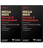 GNC Mega Men Energy & Metabolism 90 ct [2 PACK]