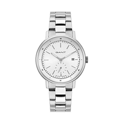 Reloj Gant Elegante para Hombre Plata
