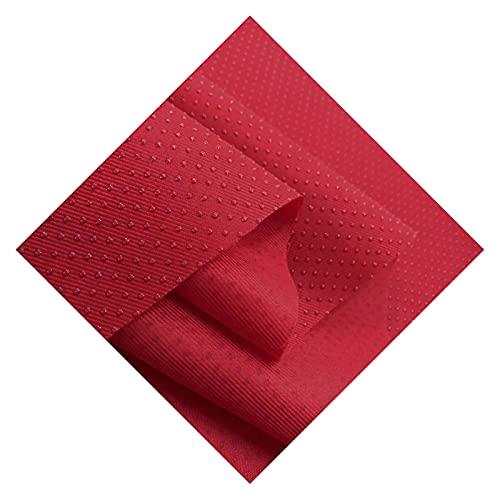 WanXingY Matériau en Caoutchouc Tapis de revêtement antidérapant en caoutchoule 150x100cm antidérapant antidérapant sans Glissement (Couleur : Red, Taille : 150cmX100cm)