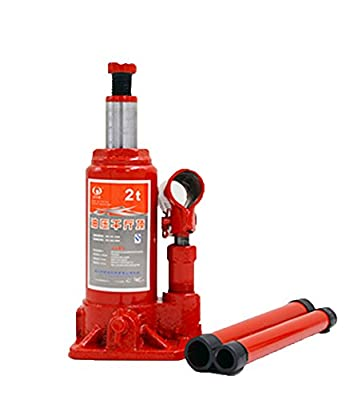 BAOSHISHAN 2 Ton Hydraulic Bottle Jack Portable LiftingJack with Carrying Case 278mm/10.9in 2.2kg