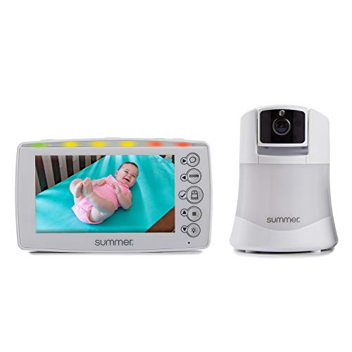 %40 OFF! Summer Explore Panoramic Video Baby Monitor with 5-inch Digital Color Screen and Remote Ste...