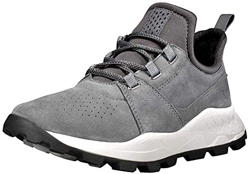 Timberland Brooklyn Oxford Sneaker in Übergrößen Grau TB0A21H1033 große Herrenschuhe, Größe:47.5