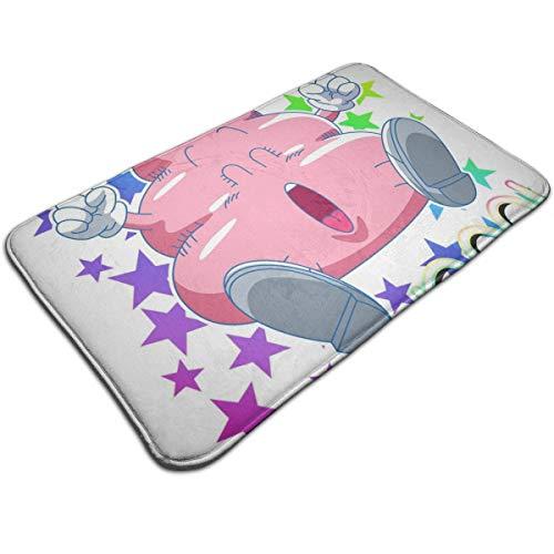 HUTTGIGH Arale Poop Dr Slump - Alfombrilla antideslizante para puerta de entrada, alfombra de baño para cocina, alfombra de piso de 48 x 81 cm, absorbente