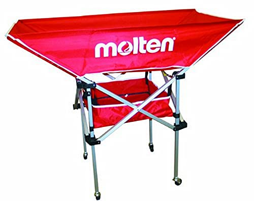 Molten Volleyball Cart, High Profile Hammock Style (Red)