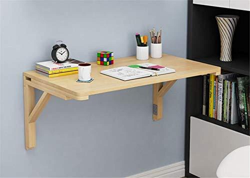 Adición perfecta a Pequenos espacios Tabla plegable de alas abatibles ahorro de espacio Muebles de pared Mesa lateral que cuelga Soporte de la mesa de la cocina,100 * 60cm