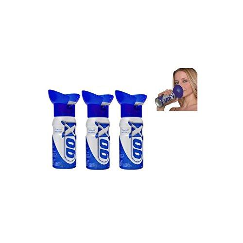 CONFEZIONE da 3 lattine di marca di ossigeno 4 litri - lattine di respirazione di ossigeno puro - GOX