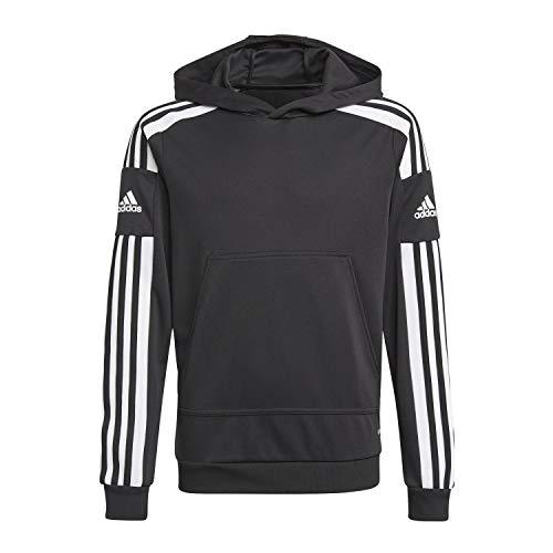 adidas GK9544 SQ21 Hood Y Sweat Unisex-Child Black/White 1314