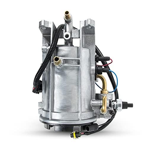 Fuel Filter Housing 7.3 PowerstrokeDiesel Compatible with FordF-250 F250 F-350 F350 E150 E-150 E-350 E350 1994 1995 1996 1997 Replace F6TZ-9B246-BA FG1054F6TZ9155AB