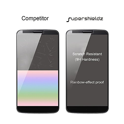(2 Pack) Supershieldz for Google Pixel (1st Generation, 2016 Release) Tempered Glass Screen Protector, 0.33mm, Anti Scratch, Bubble Free Maryland