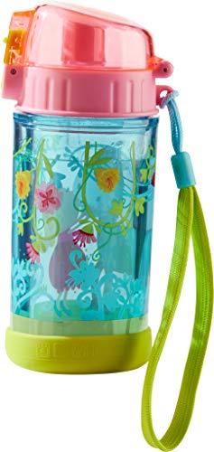 HABA 302844 - Glitzertrinkflasche Vicki & Pirli, Kinder-Trinkflasche für Pferde-Freundinnen, für Kindergarten oder Schule, 250ml Flasche, BPA-freier Kunststoff, spülmaschinenfest, auslaufsicher