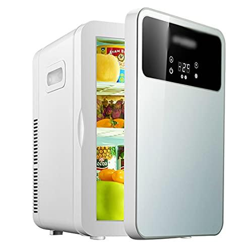 Refrigerador De Coche Refrigerador Pequeño De Oficina Individual Refrigerador Doméstico para Productos para El Cuidado De La Piel Tienda De Cosméticos Portátil Pequeño