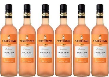 2019 Weinkellerei Hohenlohe Fürstenfass Samtrot Rosé fruchtig (6x0,75l)