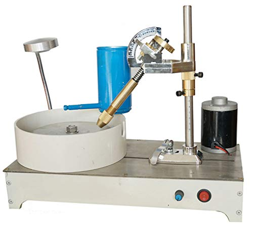 Check Out This LWQ Gem Faceting Machine,Jade Stone Angle Machine Jewelry Polisher Flat Grinder Speed...