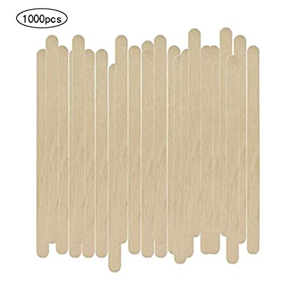 1000 Pack Birch Wood Coffee/Beverage Stirrers,Eco-Friendly Wood Coffee Stirrers for Hot Drinks Coffee Nook. (5.5 Inches)