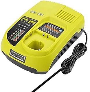 3A 14.4V 18V For Ryobi P117 Rechargeable Battery Battery Pack Power Tool Ni-Cd Ni-Mh Li-Ion P110, P111, P107,P108 (Green B...