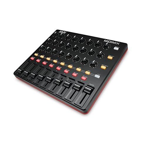 AKAI Professional MidiMix - Mixer e Controller MIDI USB Leggero e Professionale + Ableton Live Lite
