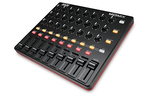 AKAI Professional MIDImix | Portable, Fully-Assignable MIDI Mixing Desk &...