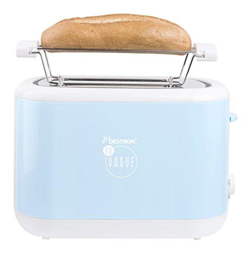 Bestron ATS300EVB Toaster designed by Thomas Rath, blau