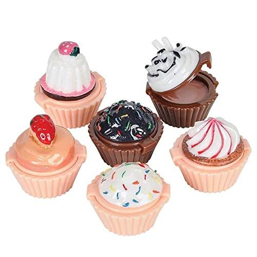 ICED CUPCAKES Craft Buttons 1ST CLASS POST Sweet Food Cup Cake Kitchen Novelty