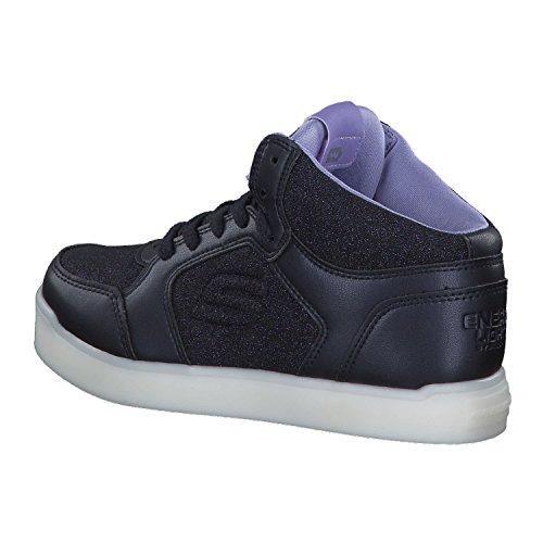 Skechers Mädchen Energy Lights Hohe Sneaker, Blau - 3