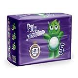 PILLO Premium Junior, Taglia 5 (11-25 Kg), 1 Pacco da 40 Pannolini Bimbo