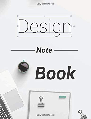 Design Note Book: Project & sketch book for graphic designer | 7.44 x 9.69 Inches, 160 Pages, dotted | Perfect gift for a graphic designer
