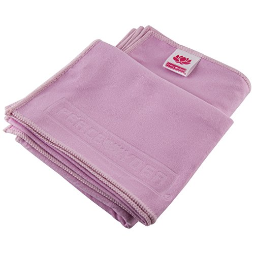 Yoga Sport Non Slip Suede Exercise Towels, 2 Pack
