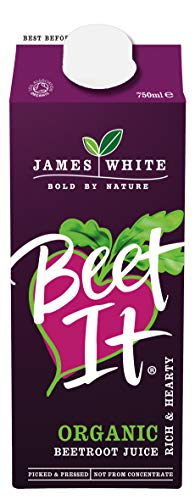 Beet It Organic Beetroot Juice (Pack of 8 x 750ml ) Picked and Pressed
