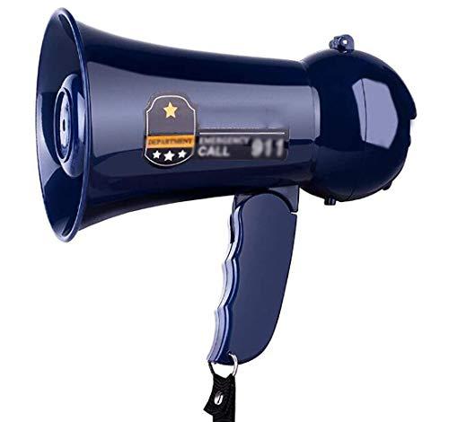CPAZT Megáfono Plegable, Mini megáfono, megáfono Altavoz, Volumen Ajustable, 100 Metros Rango,...