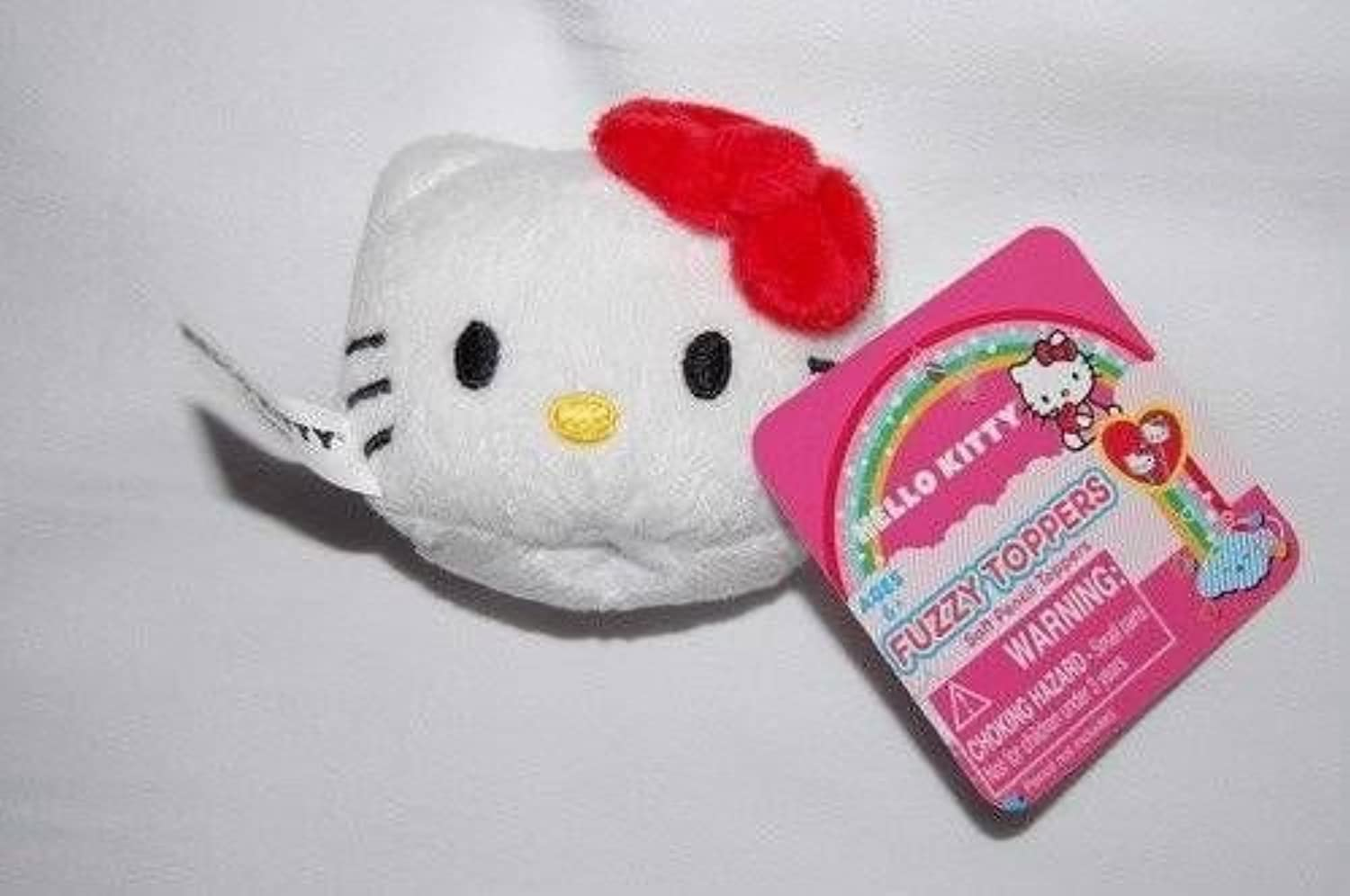 Hello Kitty Plush Pencil Pen Topper, colors of Bow may Vary