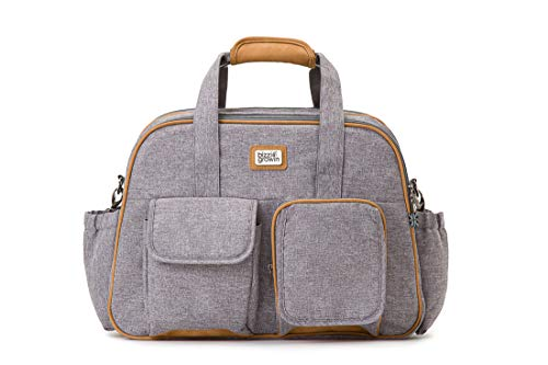 Windsor Grey POD  Baby Travel Changing Bag