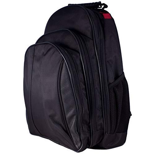 Sac d'ordinateur Portable Sac à Dos avec Compartiment pour Ordinateur Portable 35,6 cm – Noir