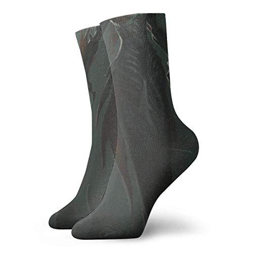 NGMADOIAN Divertenti calzini da mazza da pesce calzini da mostro calzini sportivi sportivi con stampa subacquea mostruosi calzini da regalo personalizzati lunghi 30 cm