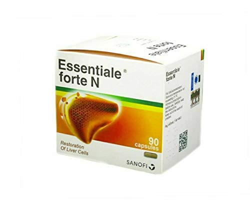 ESSENTIALE FORTE N 300 mg Liver Support Protection SANOFI 90 caps