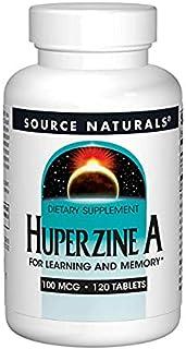 Source Naturals Huperzine A 100mcg, 120 Tablets (2 Pack)