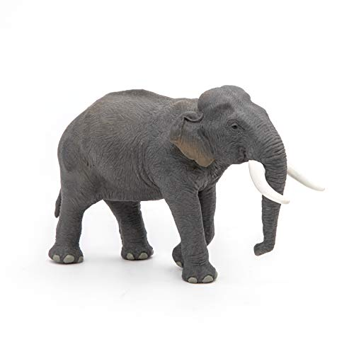 Papo 50131 Asiatischer Elefant WILDTIERE DER Welt Figur, Mehrfarben