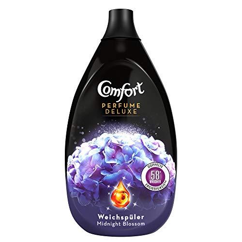 Comfort Perfume Deluxe Midnight Blossom (ultrakonzentrierter Weichspüler 58 Waschladungen), 1er Pack (1x 870 ml)