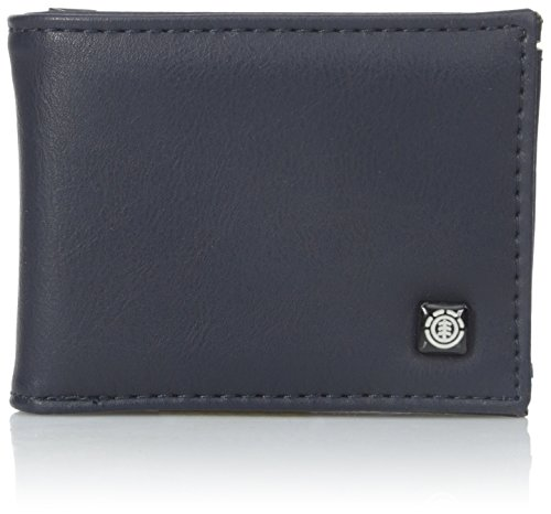 Element Men's Segur Bi-Fold Wallet, Eclipse Navy, One Size