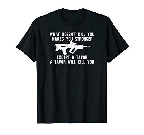 Tavor Accessories Assault Rifle Fun Tactical T-Shirt