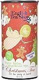 English Tea Shop Tè del Natale dei Bambini Rooibos Biologico Senza Caffeina in Tubo Regalo - 1 x 40 Filtri Rotondi di Tè (60 Grammi)