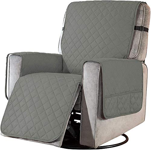 ADELALILI Sesselschoner Sesselüberwürfe Relaxsessel Fernsehsessel Sesselauflage 1 Sitzer Bezug Schmutzabweisender Wasserdichter Verschleißfest Stretch Sofahusse Schonbezug