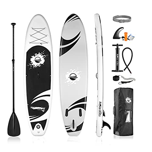 Inflatable Stand Up Paddle Board - 11' Ft. Standup Sup Paddle Board W/ Manual Air Pump, Safety...
