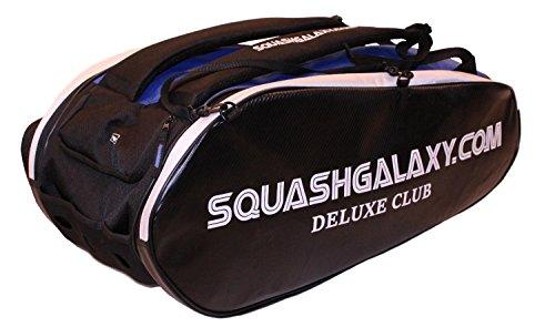 Python Racquetball Squash Galaxy Deluxe Club Squash Bag (Ultimate Value)