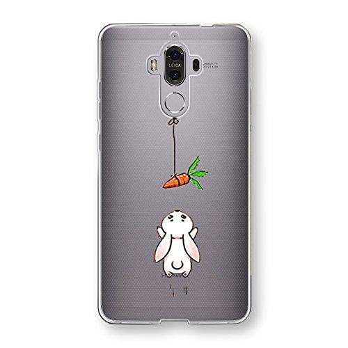 Caler Funda Compatible para Huawei Mate 9 Case,Suave TPU Gel Silicona Ultra-Delgado Ligera...